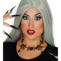 Collar de arañas para mujer - Imagen 1