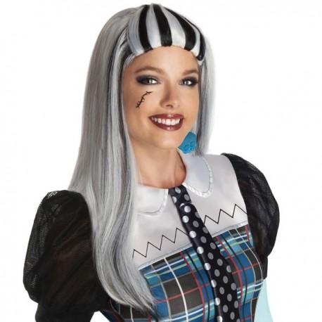Peluca de Frankie Stein Monster High adulto - Imagen 1