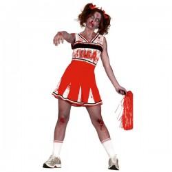 Disfraz de animadora zombie para mujer - Imagen 1