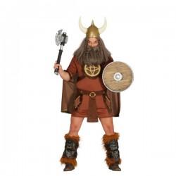 Disfraz de vikingo valiente para hombre - Imagen 1