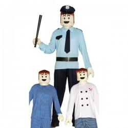 Kit cabeza y manos de muñeco playmobil - Imagen 1