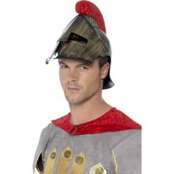 Casco de soldado espartano para hombre - Imagen 1