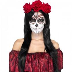 Cinta para el pelo con rosas Katrina para mujer - Imagen 1