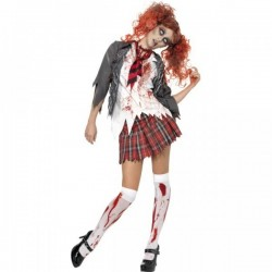 Disfraz de universitaria zombie - Imagen 1