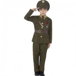 Disfraz de Capitán del ejército para niño - Imagen 1
