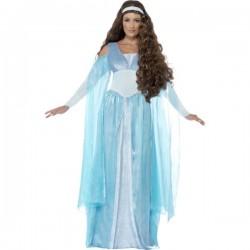 Disfraz de doncella medieval para mujer - Imagen 1