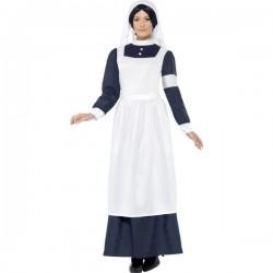 Disfraz enfermera de la guerra mundial - Imagen 1