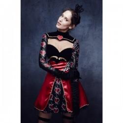 Disfraz de Reina de Corazones fever para mujer - Imagen 1