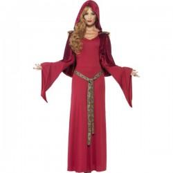 Disfraz de sacerdotisa medieval para mujer - Imagen 1