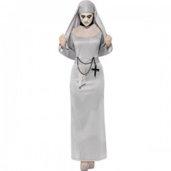 Disfraz de monja gótica sexy para mujer - Imagen 1