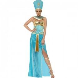 Disfraz de diosa Nefertiti egipcia para mujer - Imagen 1