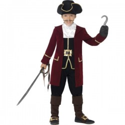 Disfraz de pirata con garfio para niño - Imagen 1