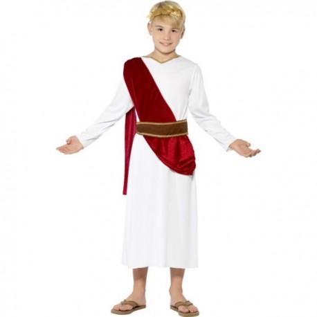 Disfraz de romano César para niño - Imagen 1