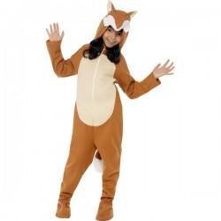 Disfraz de zorro para niña - Imagen 1
