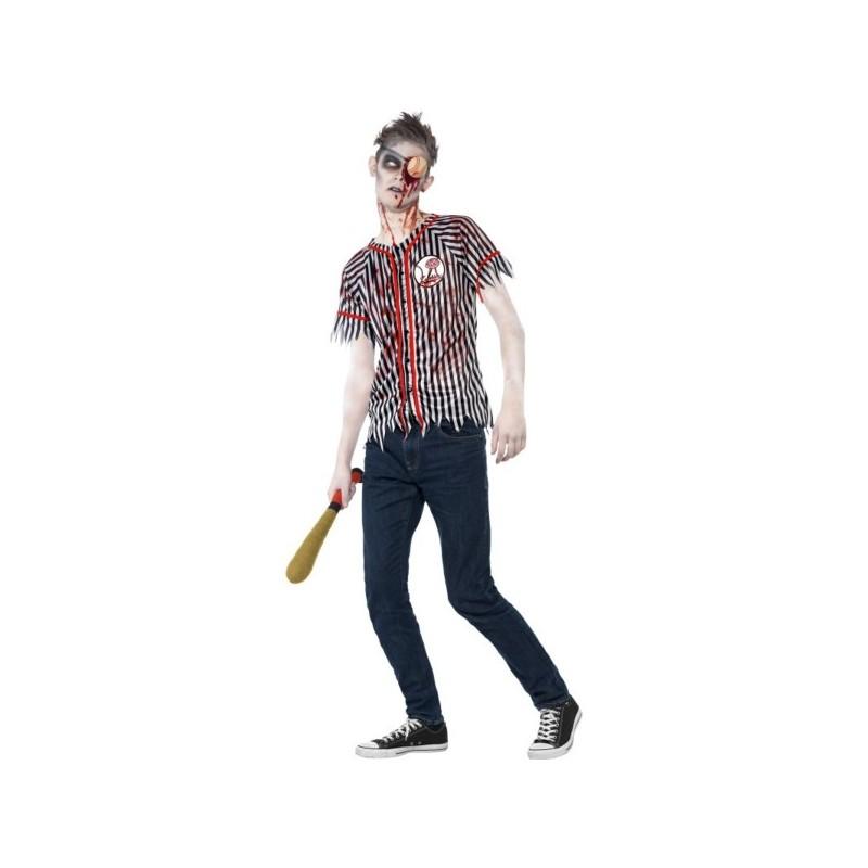 e45b57989 Disfraz de jugador de béisbol zombie para hombre. Comprar Online