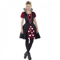 Disfraz de Reina de corazones siniestra para mujer - Imagen 1