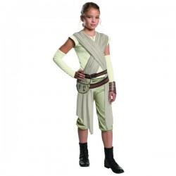 Disfraz de Rey Star Wars Episodio 7 deluxe para niña - Imagen 1