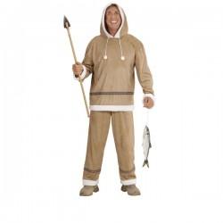 Disfraz de esquimal para hombre - Imagen 1