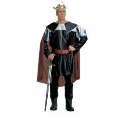 Disfraz de rey de la edad media para hombre - Imagen 1