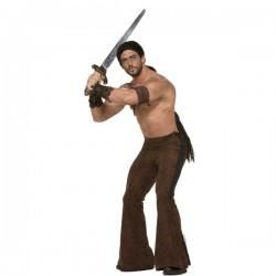 Pantalón de guerrero medieval - Imagen 1