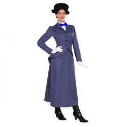 Disfraz de nana inglesa Poppins para mujer - Imagen 1