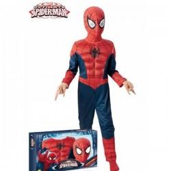 Disfraz de Ultimate Spiderman para niño en caja - Imagen 1