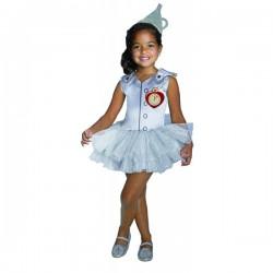 Disfraz de Hombre hojalata El Mago de Oz tutú para niña - Imagen 1