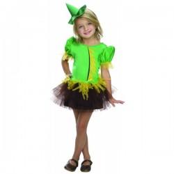 Disfraz de Espantapájaros El Mago de Oz para niña - Imagen 1