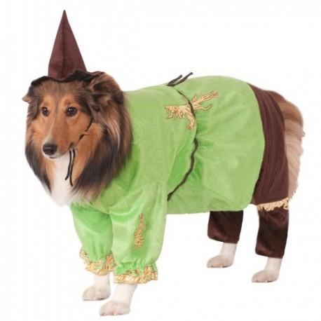 Disfraz de Espantapájaros El Mago de Oz para perro - Imagen 1