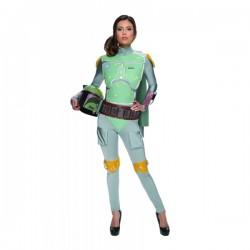 Disfraz de Boba Fett Star Wars para mujer - Imagen 1
