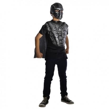 Kit disfraz armadura del General Zod Man of Steel para niño - Imagen 1