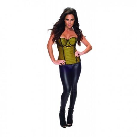 Corsé de rejilla de Batgirl Gold para mujer - Imagen 1