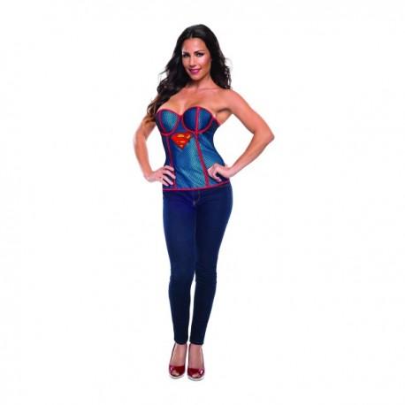 Corsé de rejilla de Supergirl para mujer - Imagen 1