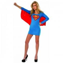Vestido disfraz de Supergirl para mujer - Imagen 1
