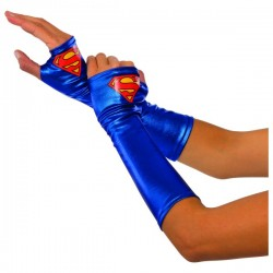 Guantes de Supergirl para mujer - Imagen 1