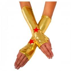 Guantes de Wonder Woman para mujer - Imagen 1