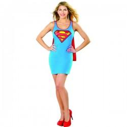 Vestido disfraz de Supergirl DC Comics para mujer - Imagen 1