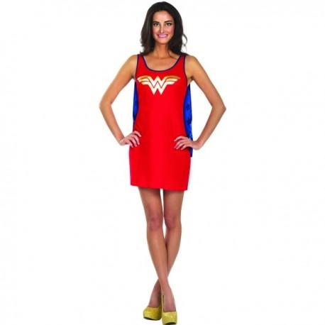 Vestido disfraz de Wonder Woman DC Comics para mujer - Imagen 1