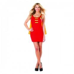 Vestido disfraz de Robin DC Comics para mujer - Imagen 1