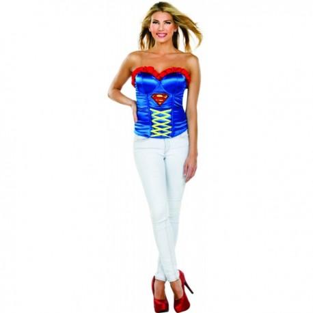 Corsé de Supergirl sexy para mujer - Imagen 1