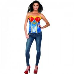 Corsé de Wonder Woman sexy para mujer - Imagen 1