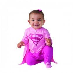 Disfraz de Supergirl DC Comics para bebé - Imagen 1