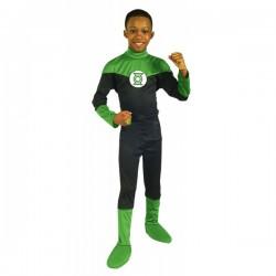 Disfraz de Linterna Verde DC Comics para niño - Imagen 1