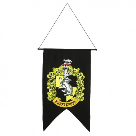 Bandera de Hufflepuff Harry Potter - Imagen 1