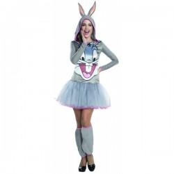 Disfraz de Bugs Bunny Looney Tunes para mujer - Imagen 1