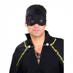 Bandana del Zorro para adulto - Imagen 1