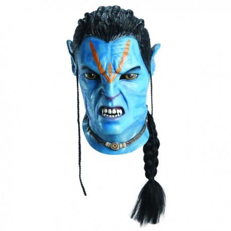 Máscara de Jake Sully Avatar para adulto. - Imagen 1