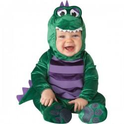 Disfraz de dinosaurio amoroso para bebé - Imagen 1