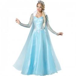 Disfraz de princesa de las nieves para mujer - Imagen 1