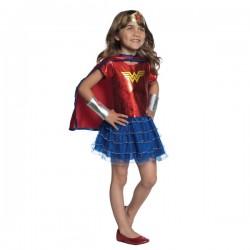 Disfraz de Wonder Woman DC Super Hero Girls con tutú para niña - Imagen 1